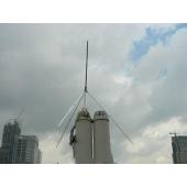 Антенна для передатчика 1/4 длины волны  до 100Вт